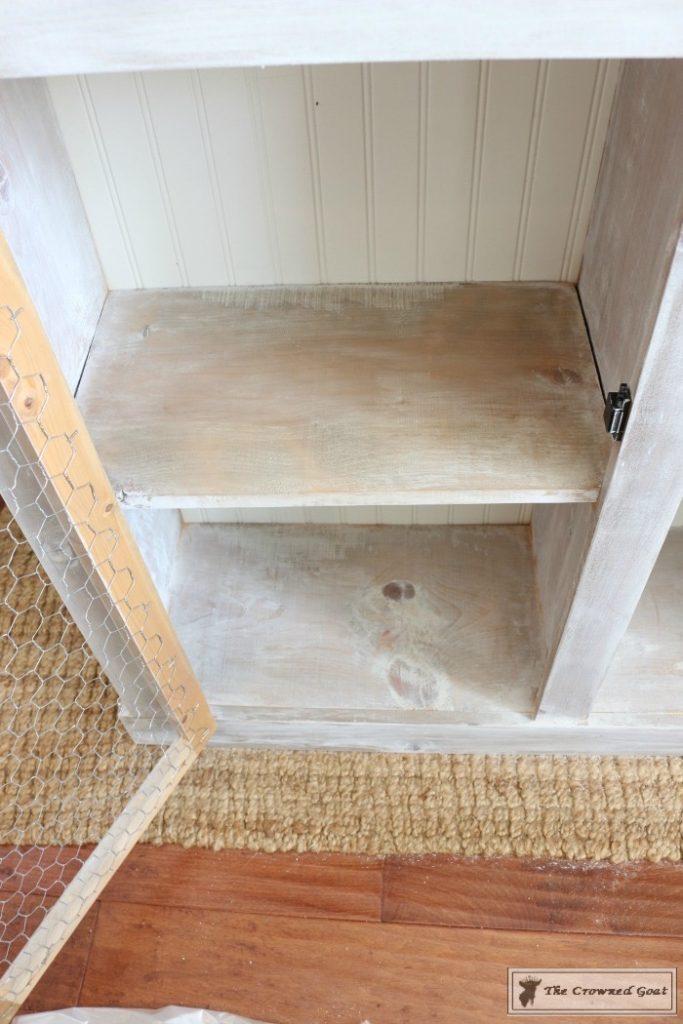 How-to-Whitewash-Farmhouse-Furniture-12-683x1024 Adding Whitewash to Farmhouse Furniture Decorating DIY Painted Furniture