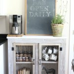 Adding Whitewash to Farmhouse Furniture