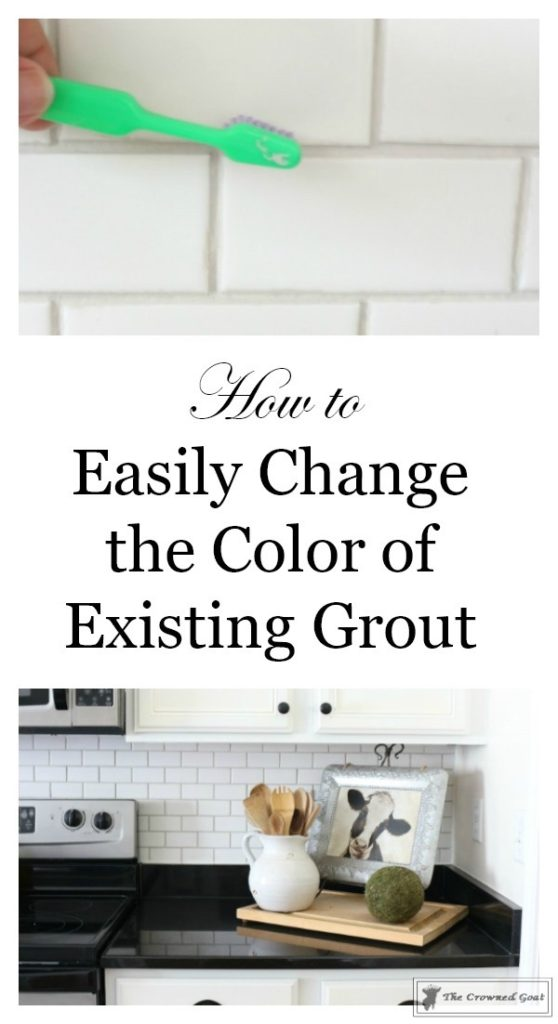 Easily-Change-the-Color-of-Existing-Grout-11-558x1024 How to Easily Change the Color of Existing Grout Decorating DIY