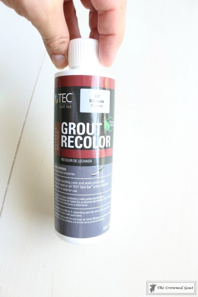 Easily Change the Color of Existing Grout-4