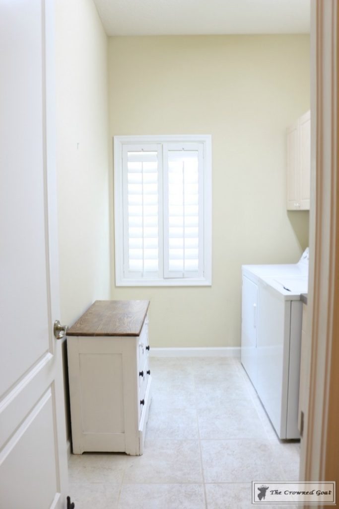 French-Country-Laundry-Room-Makeover-2-683x1024 French Country Laundry Room Makeover Decorating DIY Painted Furniture
