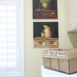 French-Country-Laundry-Room-Makeover-23 Painted Furniture