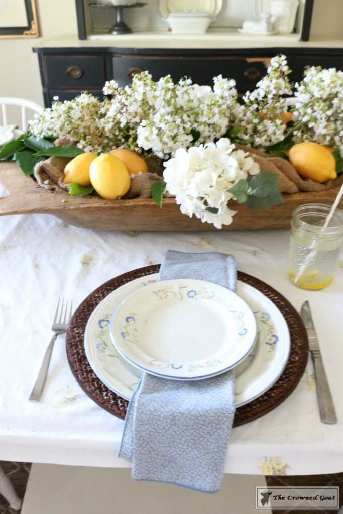 How to Create a Summer Tablescape-The Crowned Goat-9