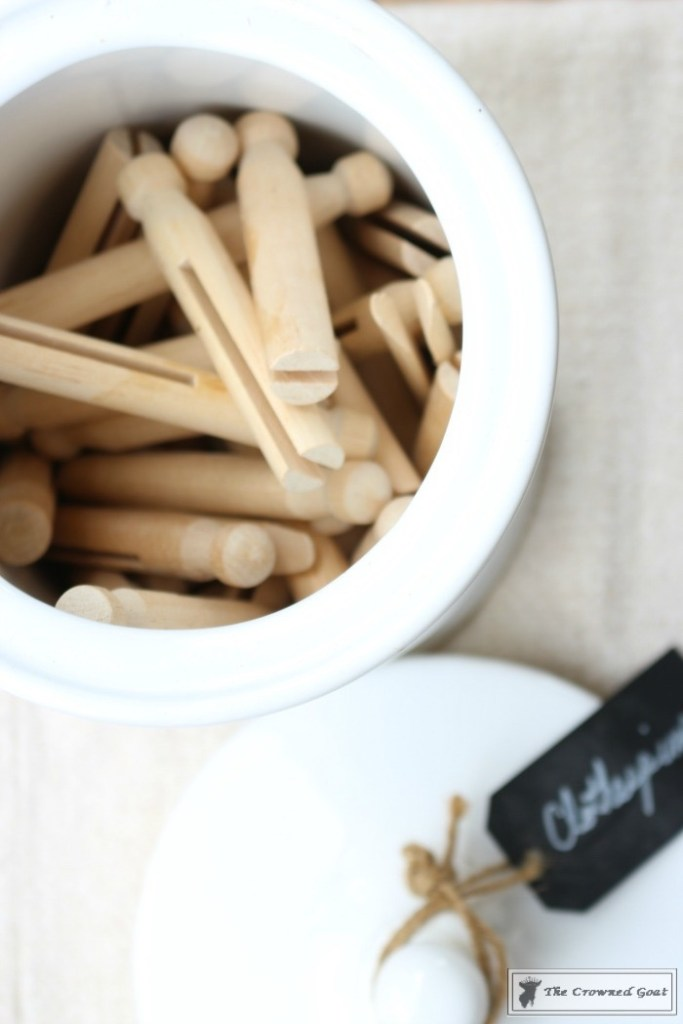 How-to-Easily-Age-New-Clothespins-12-683x1024 The Easiest Way to Age New Clothespins Decorating DIY