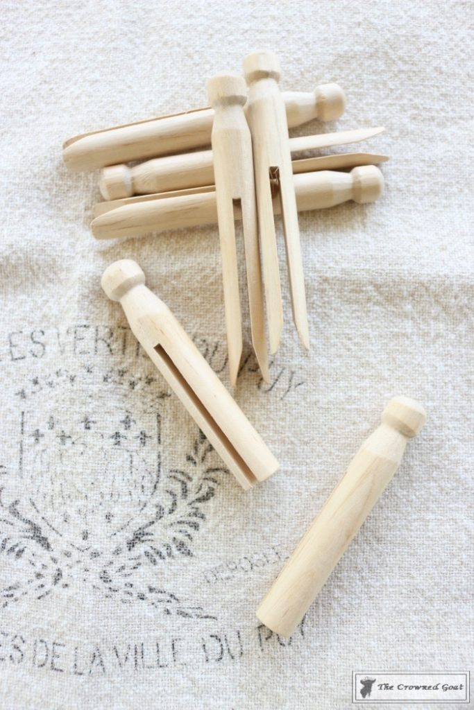 How-to-Easily-Age-New-Clothespins-4-683x1024 The Easiest Way to Age New Clothespins Decorating DIY