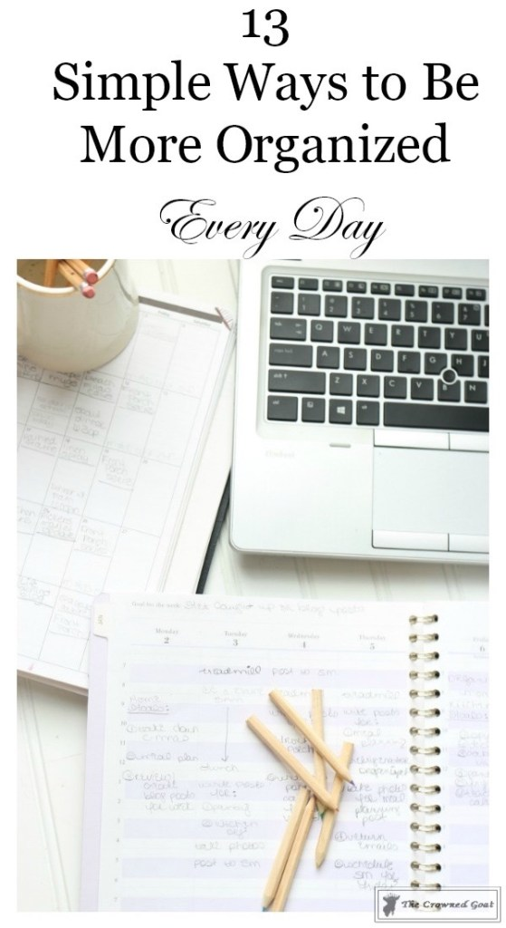 Easy Ways to Become More Organized Every Day-1