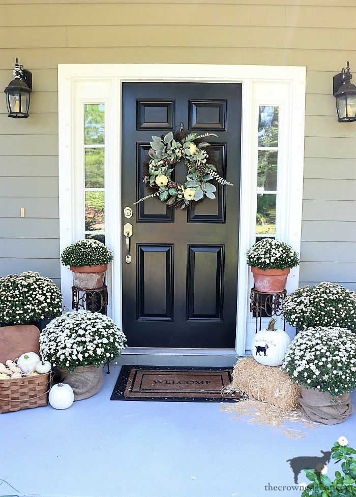 Fall-Wreaths-Autumn-Inspired-Door-Decor-The-Crowned-Goat-10 Fall Wreaths & Autumn Inspired Door Décor DIY Fall Holidays