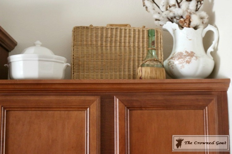 Decorating-Kitchen-Cabinets-The-Crowned-Goat-3 Decorating Above Kitchen Cabinets Decorating DIY