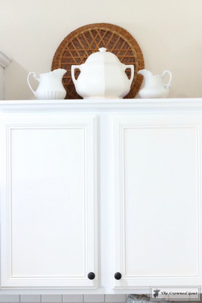 Decorating-Kitchen-Cabinets-The-Crowned-Goat-8 Decorating Above Kitchen Cabinets Decorating DIY