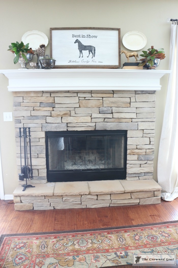 Easy-Fall-Mantel-Ideas-The-Crowned-Goat-8 5 Steps to Creating an Easy Fall Mantel Fall