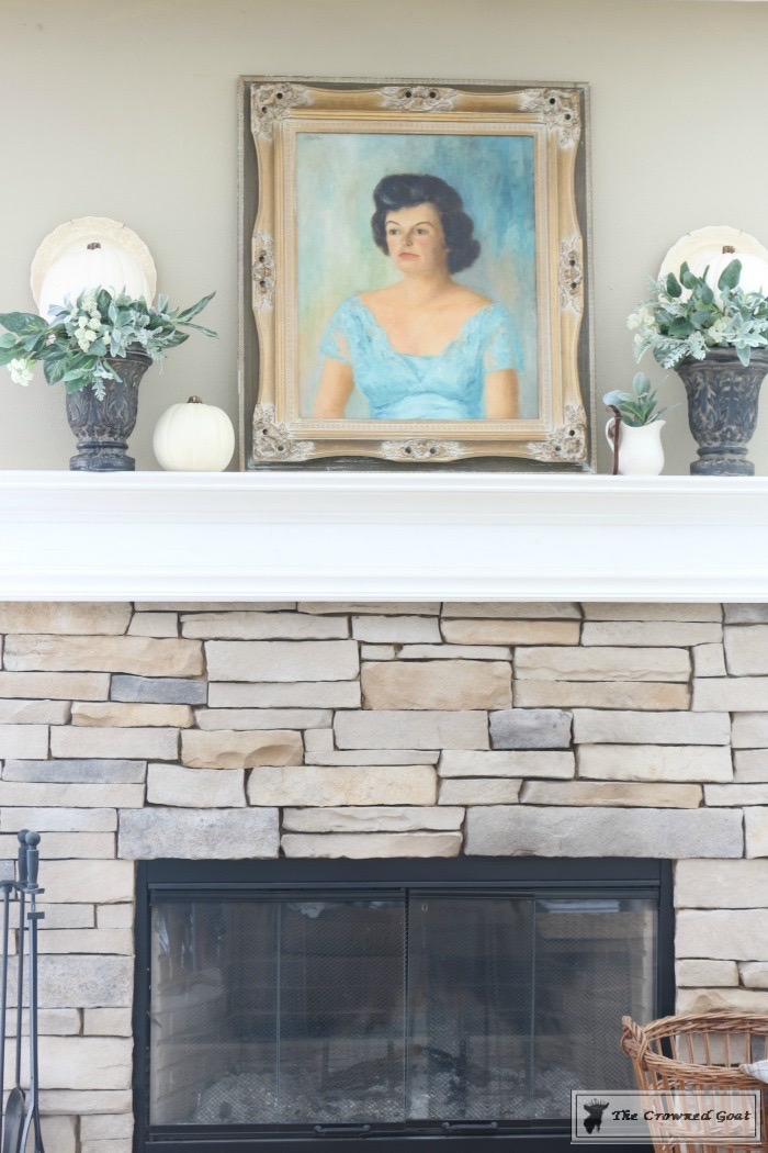 Easy-Fall-Mantel-Ideas-The-Crowned-Goat-9 5 Steps to Creating an Easy Fall Mantel Fall