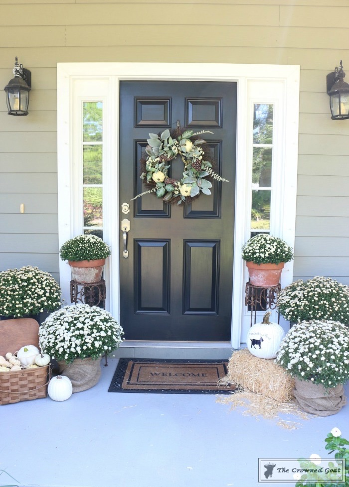 Fall Decorating Home Tour-The Crowned Goat-1