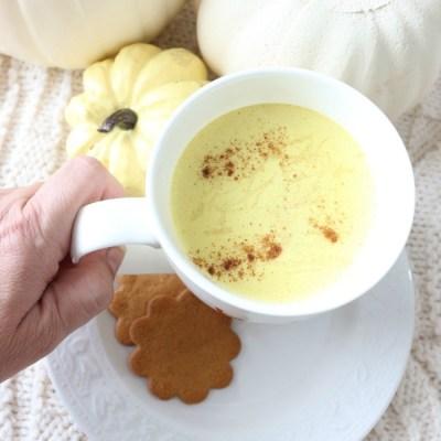 Pumpkin Spice Golden Milk Latte