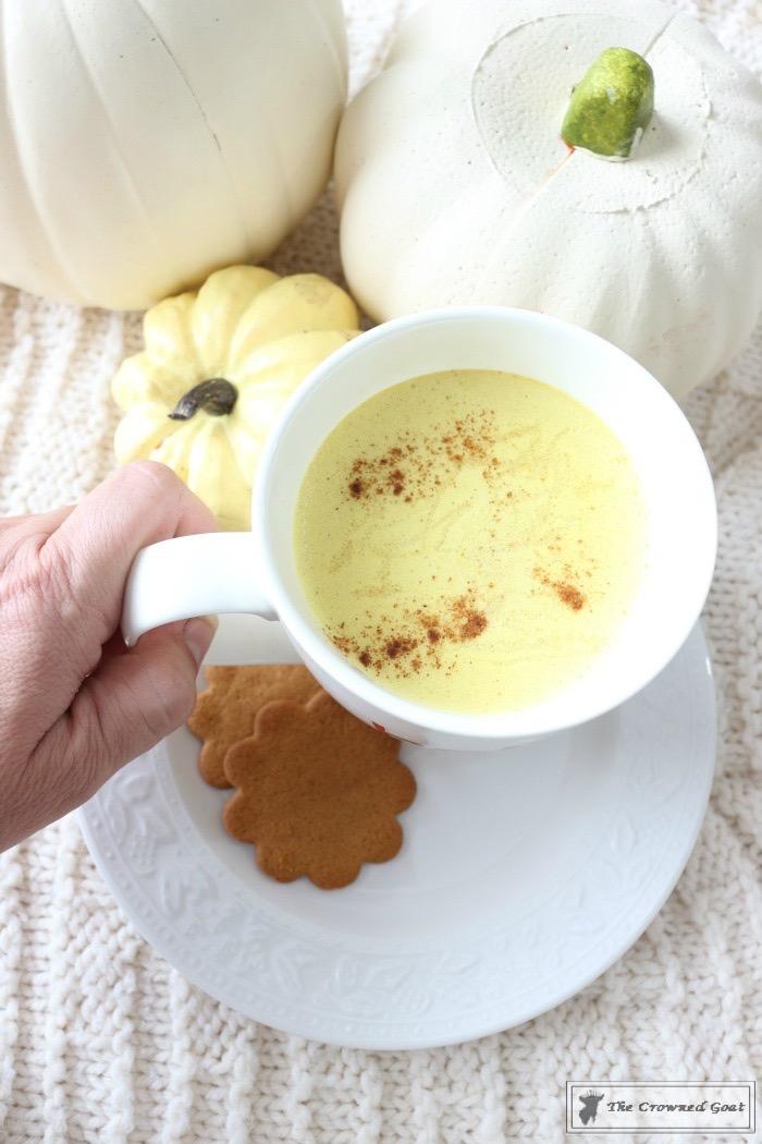 Pumpkin-Spice-Golden-Milk-Latte-The-Crowned-Goat-10 Pumpkin Spice Golden Milk Latte Baking Fall