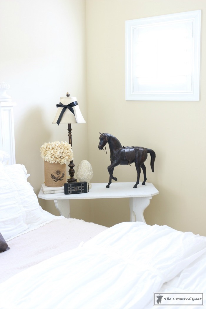 Vintage-White-Bedroom-Makeover-The-Crowned-Goat-10 Vintage White Bedroom Makeover at Bliss Barracks Decorating