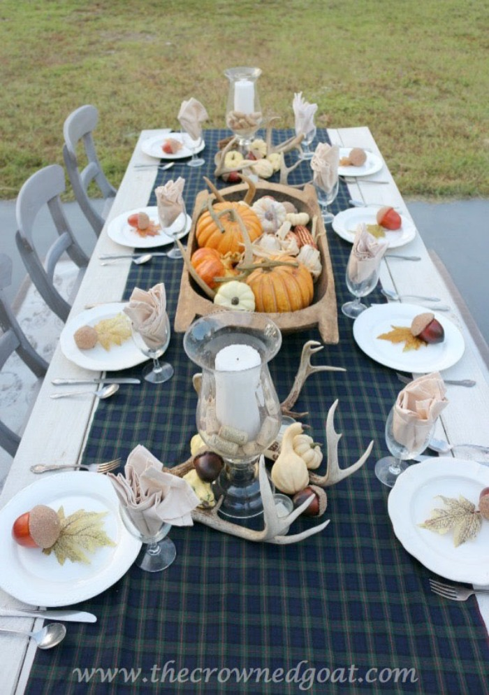 5-Easy-Thanksgiving-Tablescape-Tips-The-Crowned-Goat-12 5 Tips for an Easy Thanksgiving Tablescape Decorating Fall Holidays