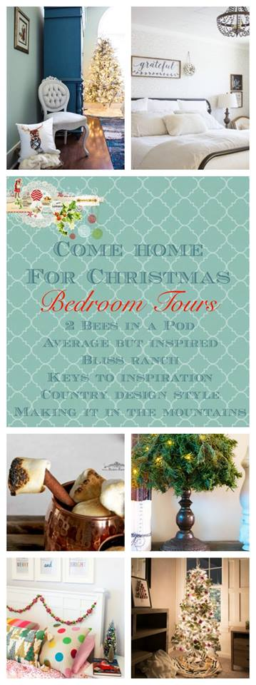 Come-Home-for-Christmas-Bedrooms-Wednesday Mad for Plaid Christmas Entry Christmas