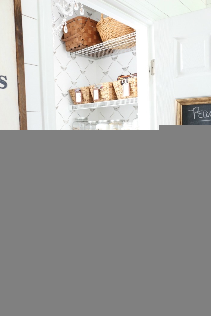 Pantry-Organization-Tips-Made-Easy-The-Crowned-Goat-5 How to Repurpose a Picture into a Chalkboard Crafts Decorating DIY Organization