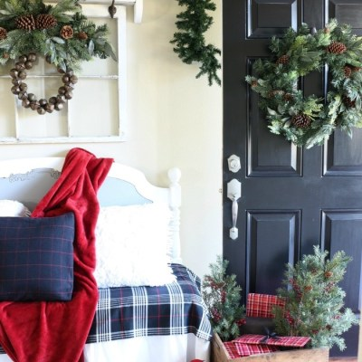 Mad for Plaid Christmas Entry
