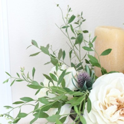 How to Create a Simple Flower Arrangement