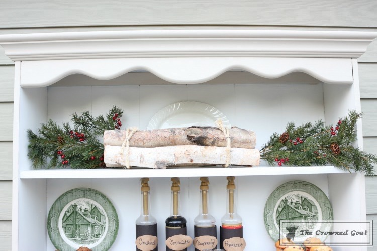 How-to-Create-an-Outdoor-Drink-Station-The-Crowned-Goat-11 Creating an Outdoor Drink Station Christmas