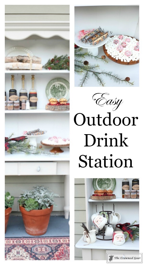 How-to-Create-an-Outdoor-Drink-Station-The-Crowned-Goat-2 Creating an Outdoor Drink Station Christmas