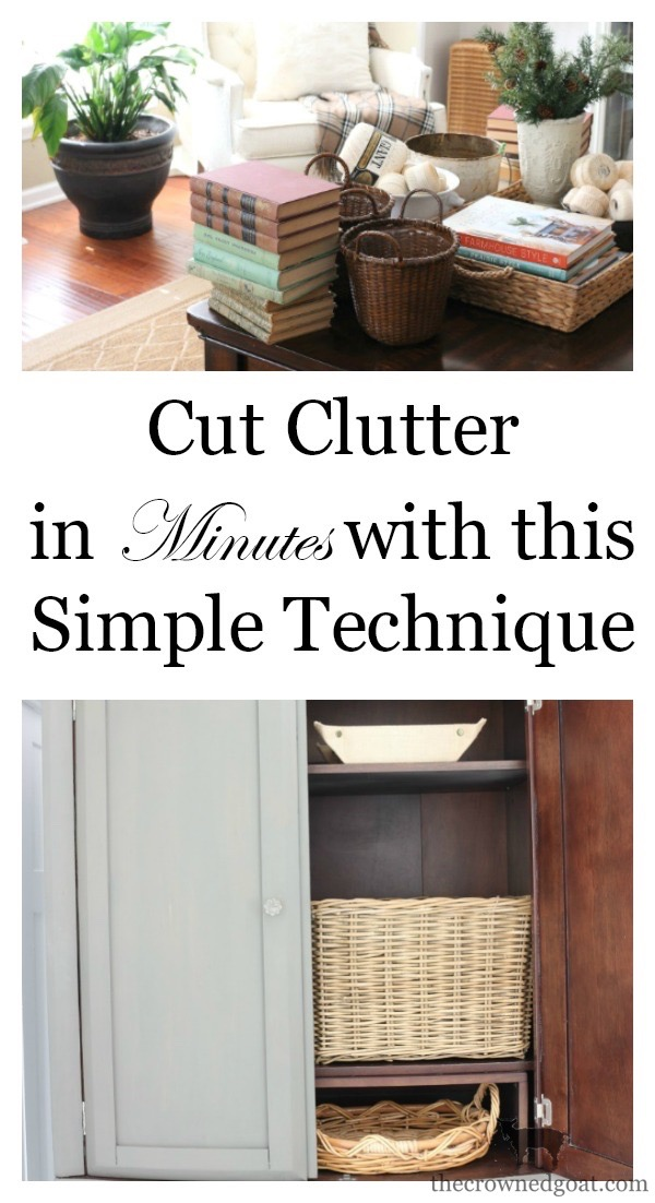 Cut-Clutter-in-Minutes-The-Crowned-Goat-4 The 15 Minute Task We Use to Cut Clutter Organization