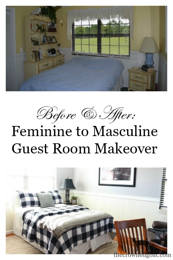 Guest-Bedroom-Makeover-The-Crowned-Goat-21 The Horse Farm Project: Guest Bedroom Makeover Decorating