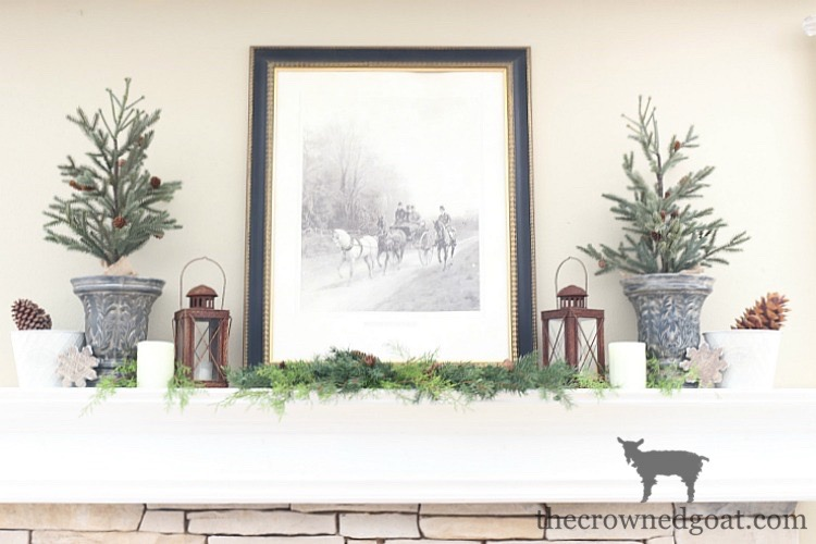 The-Easiest-Way-to-Style-a-Mantel-The-Crowned-Goat-2 The Easiest Way to Style a Mantel Back to Basic