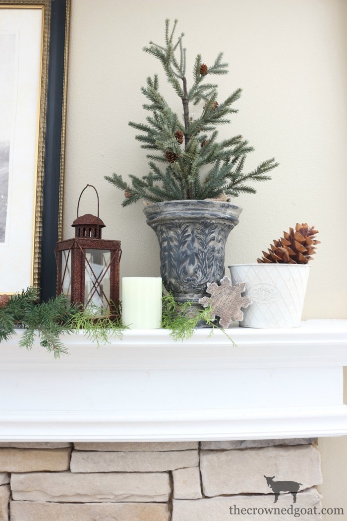 The-Easiest-Way-to-Style-a-Mantel-The-Crowned-Goat-3 The Easiest Way to Style a Mantel Back to Basic