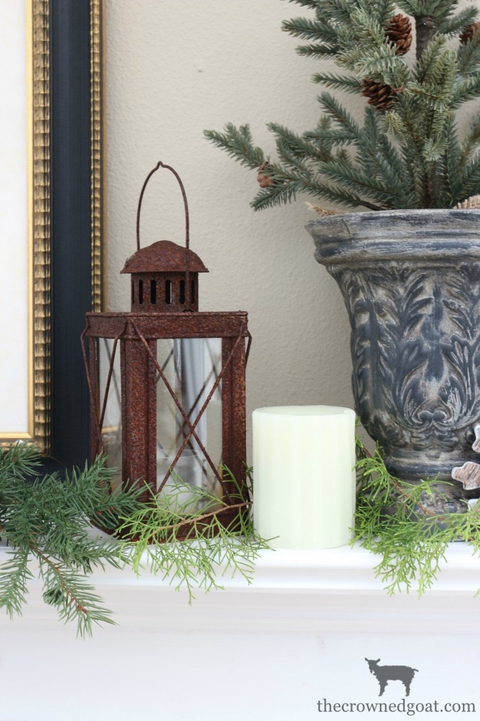 The-Easiest-Way-to-Style-a-Mantel-The-Crowned-Goat-5 The Easiest Way to Style a Mantel Back to Basic