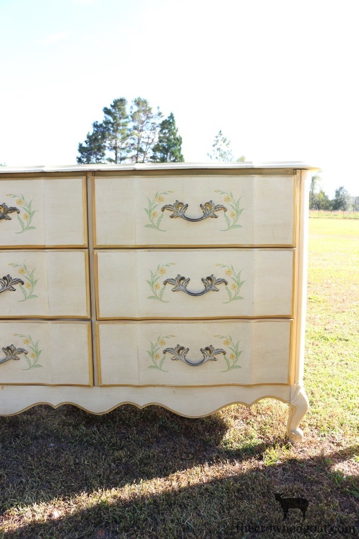 The-Horse-Farm-Project-Dresser-Makeover-The-Crowned-Goat-9 The Horse Farm Project: Painting Dressers & Nightstands DIY Painted Furniture