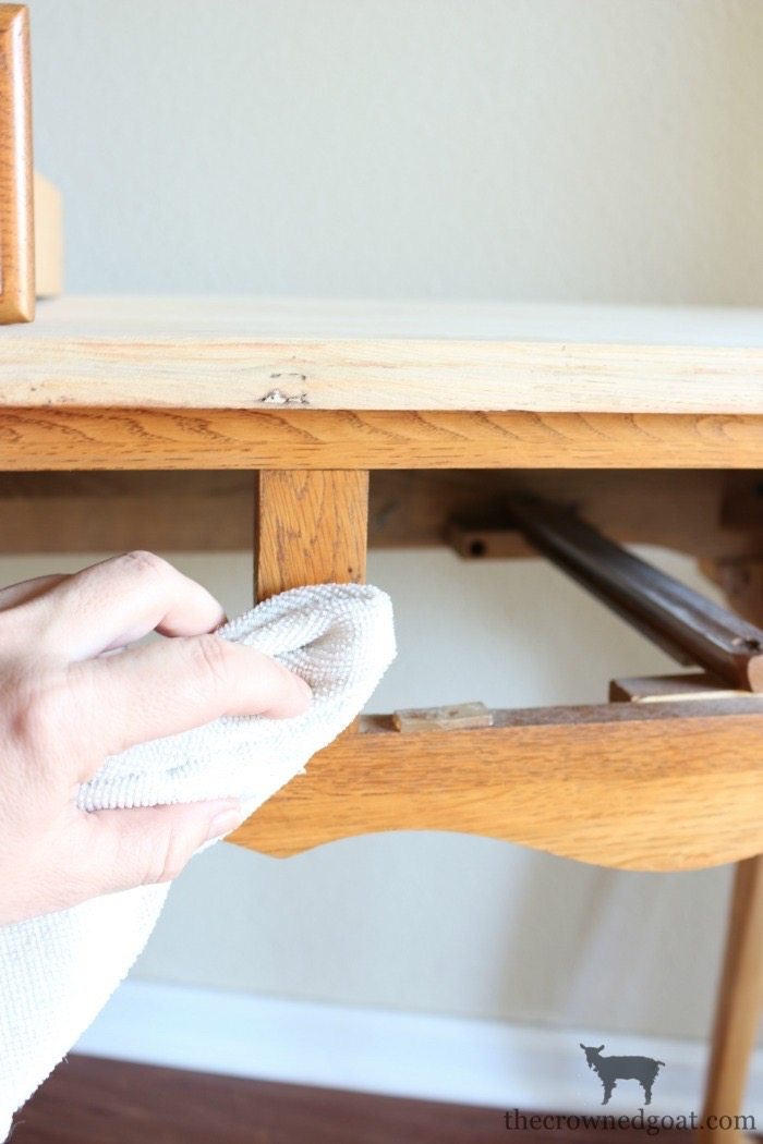 How-to-Paint-Furniture-with-Chalk-Paint-The-Crowned-Goat-6 Back to Basics Series: Chalk Painting Furniture 101 Back to Basic