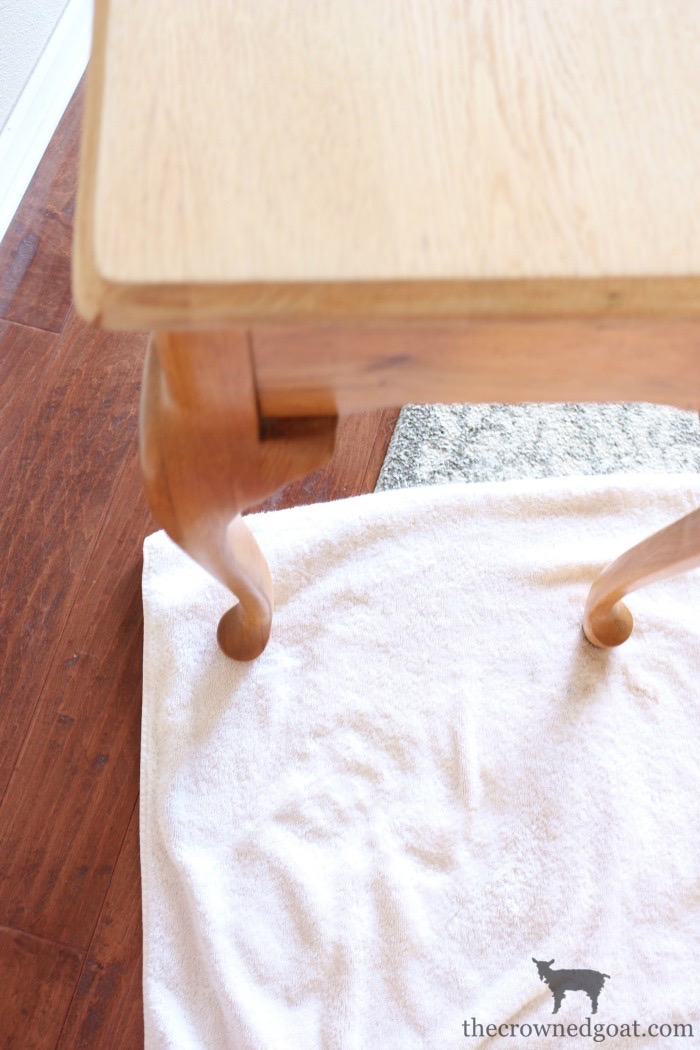 How-to-Paint-Furniture-with-Chalk-Paint-The-Crowned-Goat-9 Back to Basics Series: Chalk Painting Furniture 101 Back to Basic