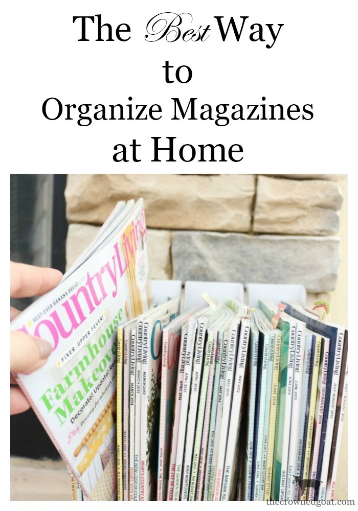 The-Best-Way-to-Organize-Magazines-At-Home-The-Crowned-Goat-4 The Best Way to Organize Magazines Organization