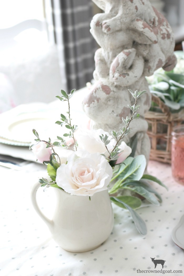 Breakfast-Nook-Spring-Tablescape-Ideas-The-Crowned-Goat-13 Spring Tablescape in the Breakfast Nook Spring