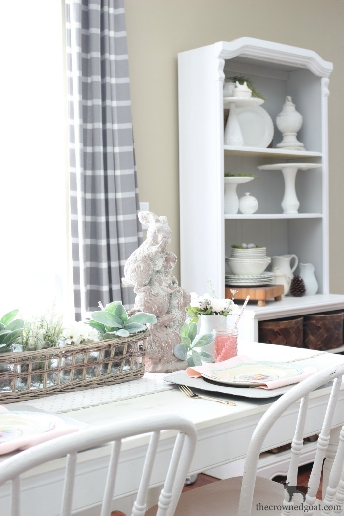 Breakfast-Nook-Spring-Tablescape-Ideas-The-Crowned-Goat-15 Spring Tablescape in the Breakfast Nook Spring