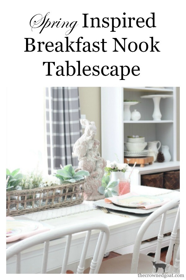 Breakfast-Nook-Spring-Tablescape-Ideas-The-Crowned-Goat-16 Spring Tablescape in the Breakfast Nook Spring