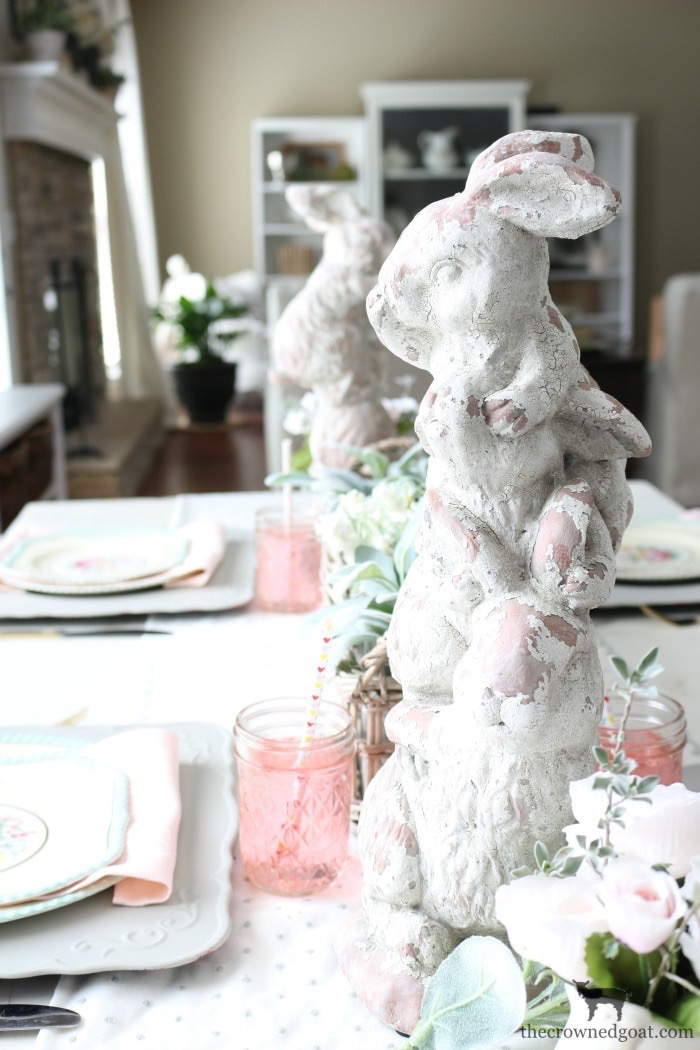 Breakfast-Nook-Spring-Tablescape-Ideas-The-Crowned-Goat-8 Spring Tablescape in the Breakfast Nook Spring