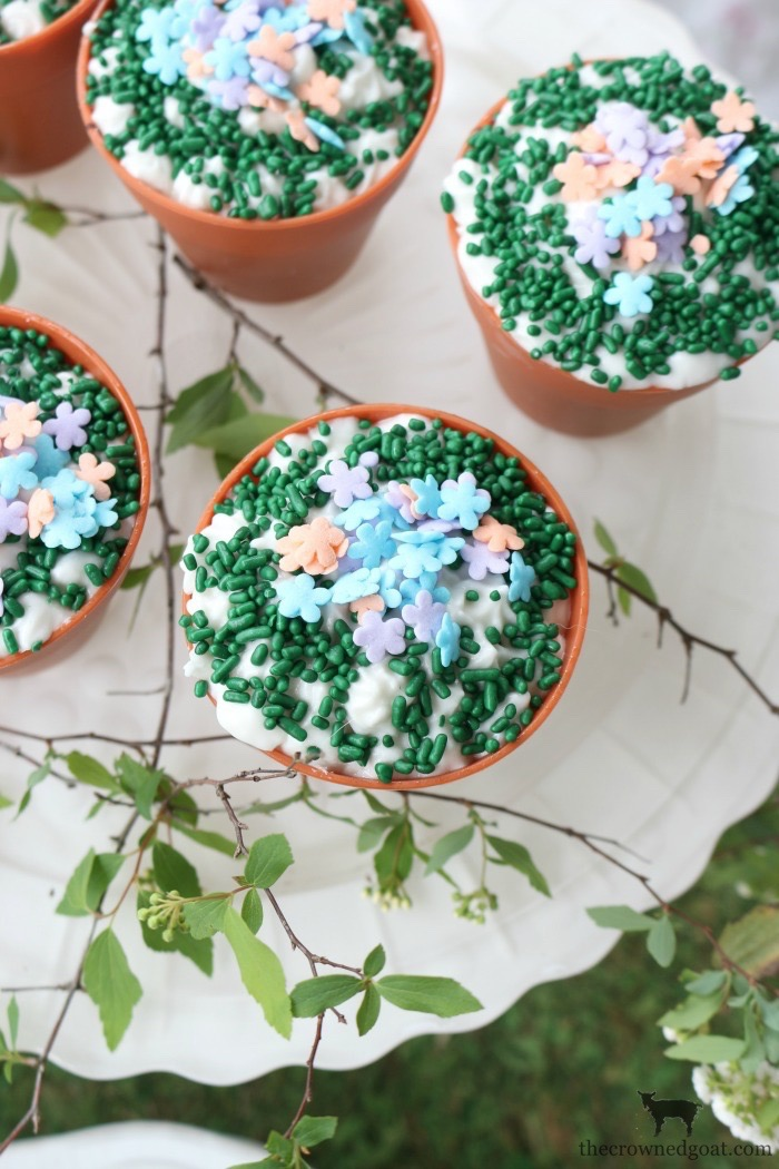 Flower-Pot-Cupcakes-The-Crowned-Goat-21 Spring Inspired Flower Pot Cupcakes Baking Spring