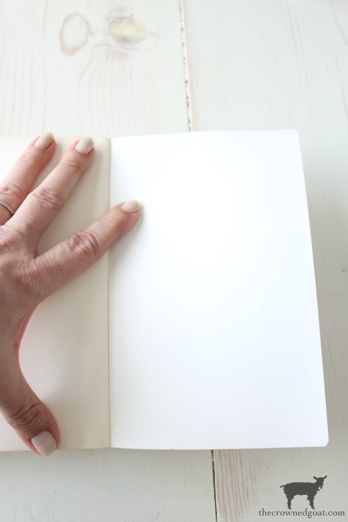 How-to-Make-New-Book-Pages-Look-Old-The-Crowned-Goat-4-1 How to Make Book Pages Look Aged Decorating DIY