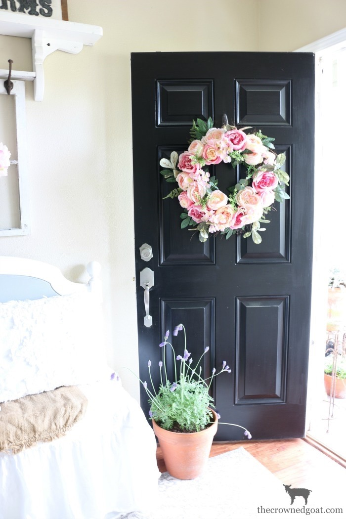 Spring-Entry-Decorating-Ideas-The-Crowned-Goat-2 Spring Inspired Entry Spring