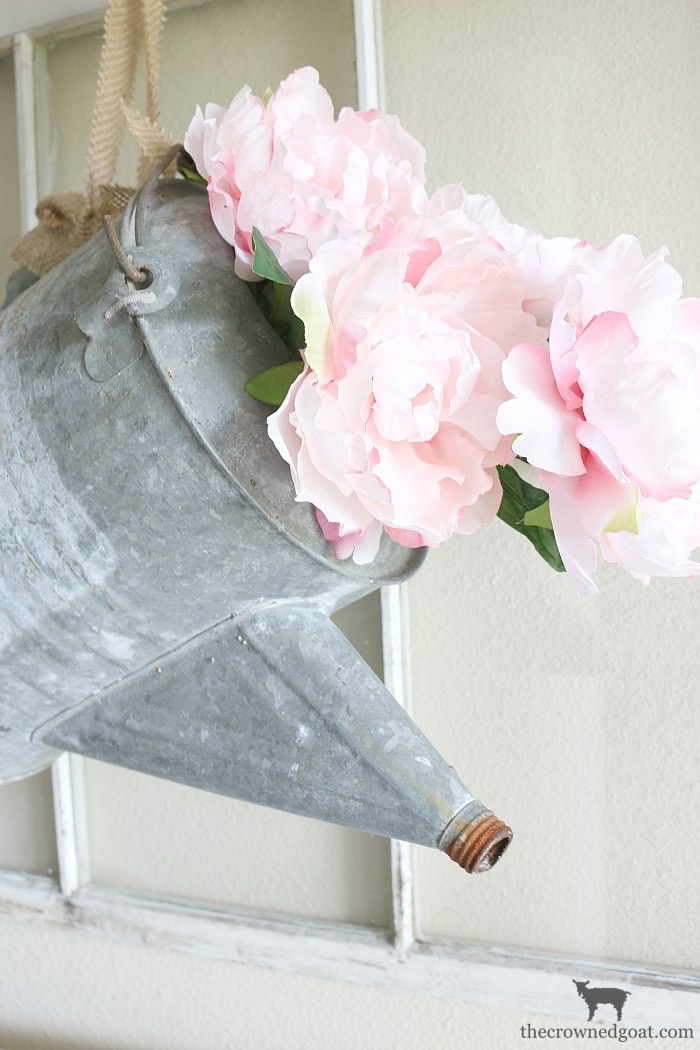 Spring-Entry-Decorating-Ideas-The-Crowned-Goat-4 Spring Inspired Entry Spring