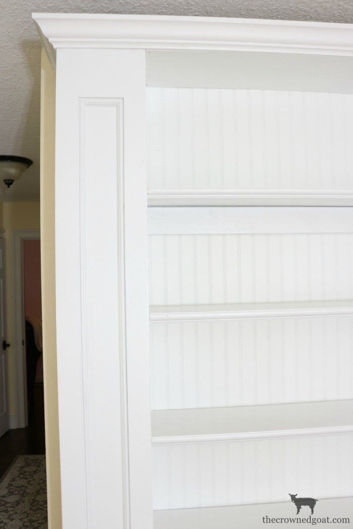 Custom-Built-Bookcase-The-Crowned-Goat-6 DIY Custom Bookcases from Columns Loblolly_Manor