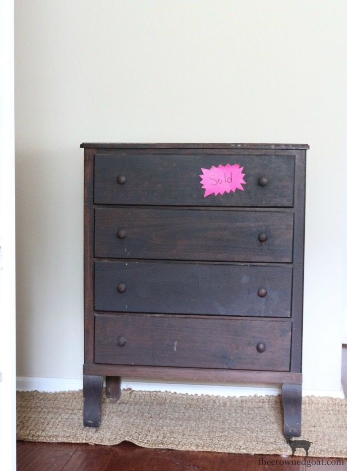 Farmhouse-Dresser-Makeover-The-Crowned-Goat-1 Farmhouse Dresser Makeover Painted Furniture