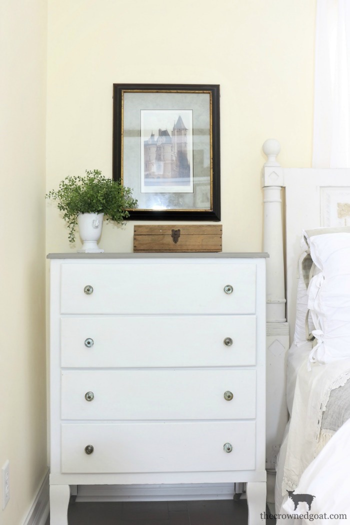Farmhouse-Dresser-Makeover-The-Crowned-Goat-10 Farmhouse Dresser Makeover Painted Furniture