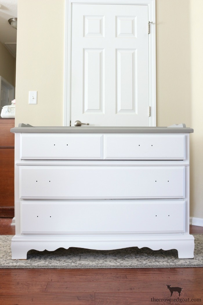 French-Linen-Buffet-Makeover-The-Crowned-Goat-7 Laundry Room Buffet Makeover One_Room_Challenge