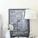 French Linen Desk Makeover