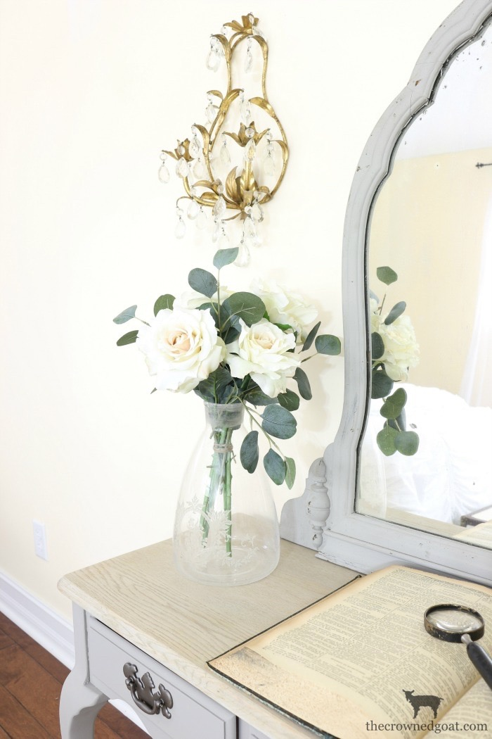 French-Linen-Vanity-Makeover-The-Crowned-Goat-8 French Linen Vanity Makeover Loblolly_Manor Painted Furniture
