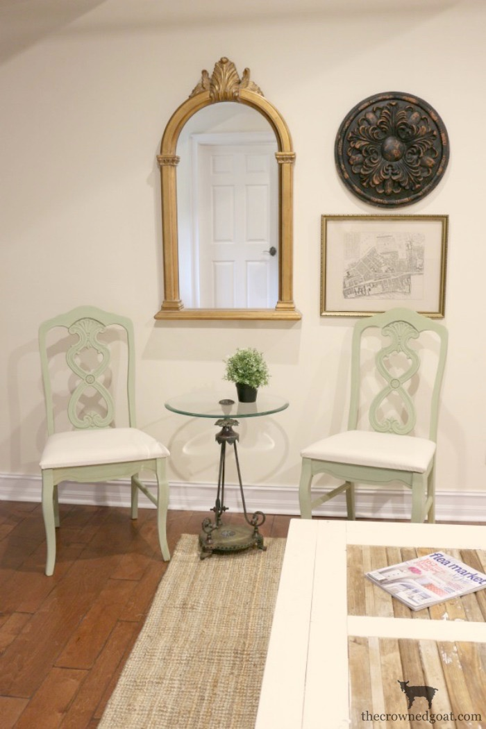 Milk-Paint-to-Chalk-Paint-Chair-Makeover-The-Crowned-Goat-10 Milk Paint to Chalk Paint Chair Makeover Painted Furniture